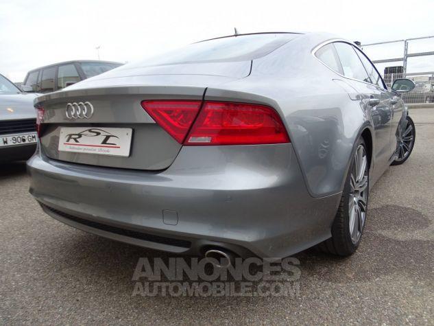 Audi A7 Sportback A7 TDI 3.0L 245PS BVA S LINE/FULL OPTIONS Véhicule Français  gris avus Occasion - 6