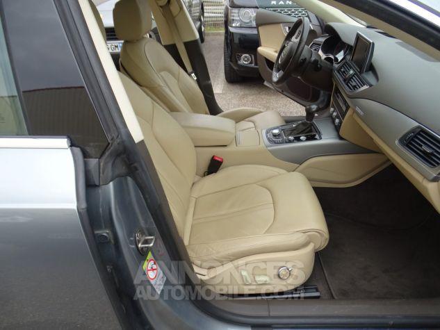 Audi A7 Sportback A7 TDI 3.0L 245PS BVA S LINE/FULL OPTIONS Véhicule Français  gris avus Occasion - 10
