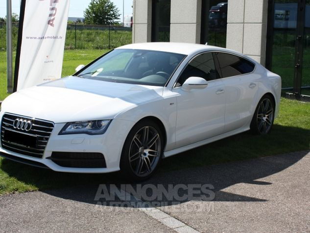 Audi A7 Sportback S-Line Blanc Ibis Occasion - 0