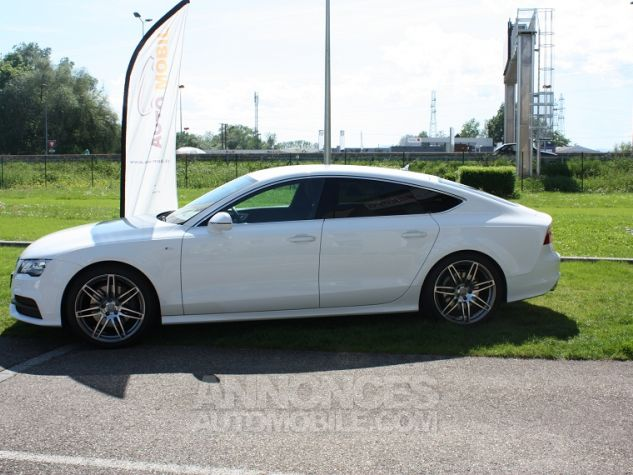 Audi A7 Sportback S-Line Blanc Ibis Occasion - 1