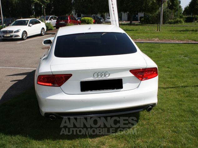 Audi A7 Sportback S-Line Blanc Ibis Occasion - 3