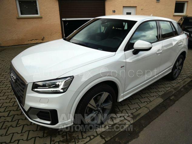 Audi Q2 1.4 TFSi S line S tronic, ACC, Phares LED, Keyless, Hayon électrique, MMI Navigation Blanc Ibis Occasion - 1