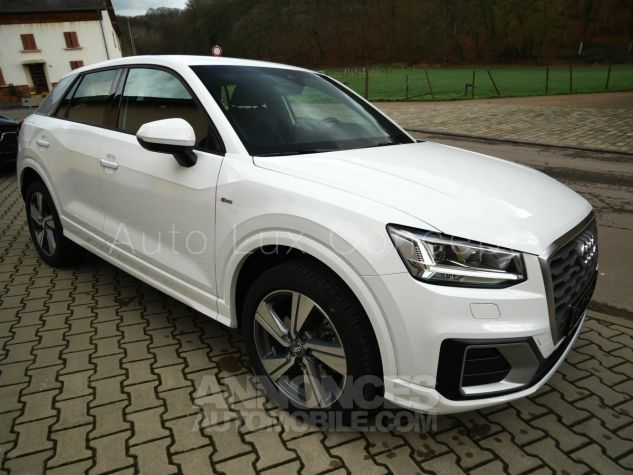 Audi Q2 1.4 TFSi S line S tronic, ACC, Phares LED, Keyless, Hayon électrique, MMI Navigation Blanc Ibis Occasion - 2