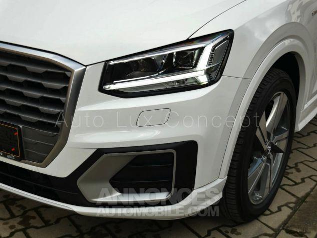 Audi Q2 1.4 TFSi S line S tronic, ACC, Phares LED, Keyless, Hayon électrique, MMI Navigation Blanc Ibis Occasion - 9