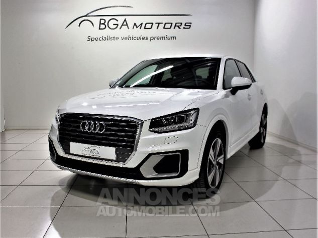 Audi Q2 2.0 TDI 190CH DESIGN LUXE QUATTRO S TRONIC 7 Blanc Occasion - 0