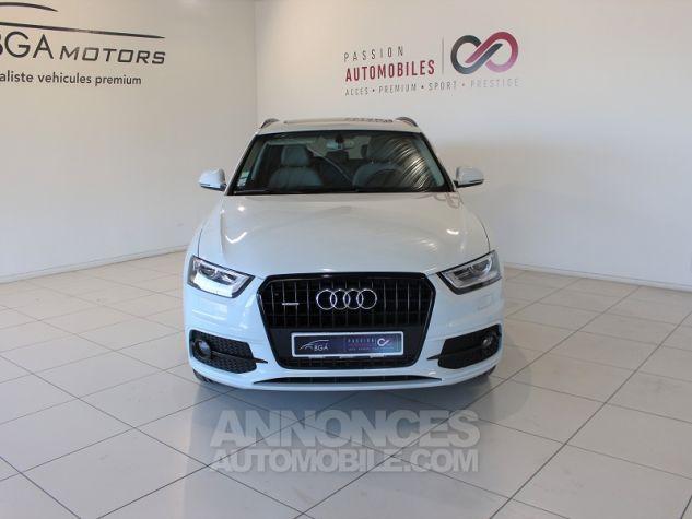 Audi Q3 2.0 TDI 140CH AMBITION LUXE QUATTRO S TRONIC 7 Blanc Occasion - 1