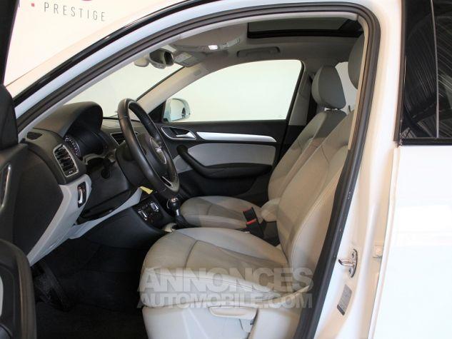 Audi Q3 2.0 TDI 140CH AMBITION LUXE QUATTRO S TRONIC 7 Blanc Occasion - 5