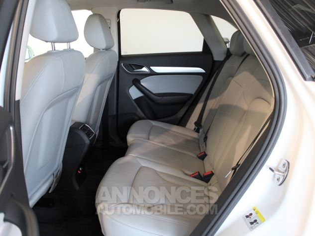 Audi Q3 2.0 TDI 140CH AMBITION LUXE QUATTRO S TRONIC 7 Blanc Occasion - 12