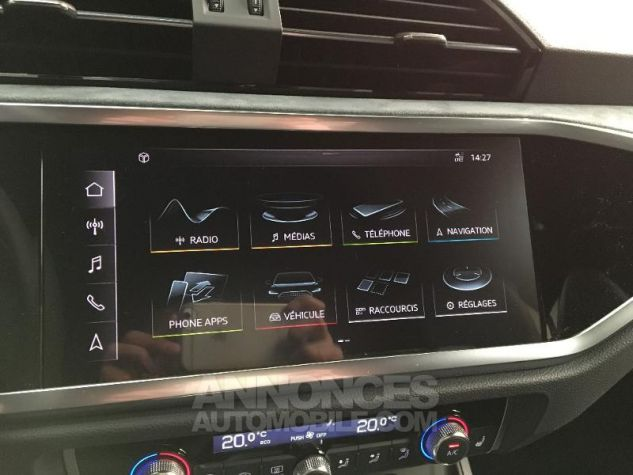 Audi Q3 35 TFSI 150ch Design Luxe S tronic 7 GRIS CHRONOS Occasion - 9