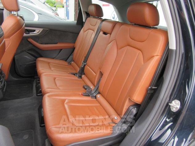 Audi Q7 3.0 V6 TDI 373CH E-TRON AVUS EXTENDED QUATTRO TIPTRONIC Bleu Nuit Occasion - 16