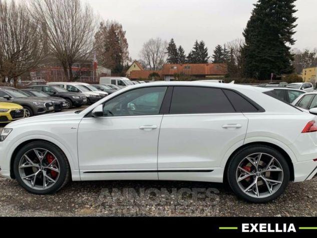 Audi Q8 50 TDI QUATTRO S LINE 286  BLANC  Occasion - 1