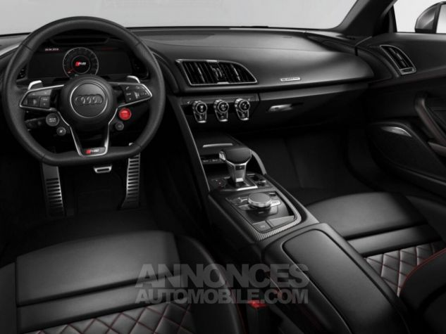 Audi R8 Coupé V10 Plus 610Ch 2018 blanc Occasion - 3