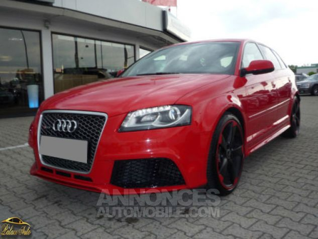 Audi RS3 Audi RS3 Sportback S tronic 340cv GPS XENON BOSE Rouge Misano Occasion - 0