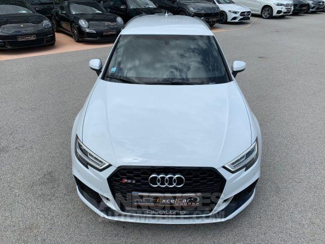 Audi RS3 II (2) SPORTBACK 2.5 TFSI 400 CH QUATTRO S TRONIC BLANC GLACIER MÉTAL Occasion - 4