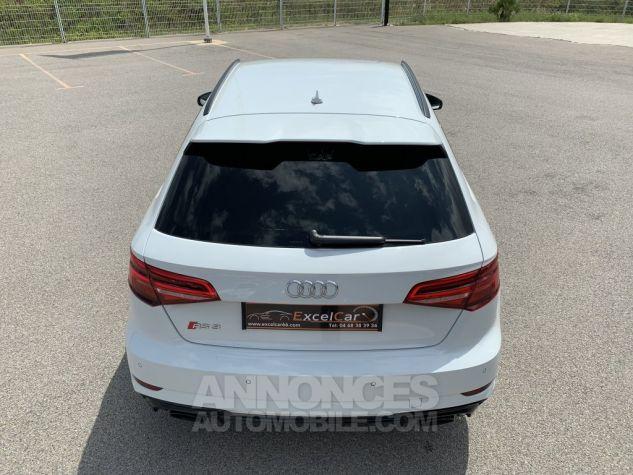Audi RS3 II (2) SPORTBACK 2.5 TFSI 400 CH QUATTRO S TRONIC BLANC GLACIER MÉTAL Occasion - 6