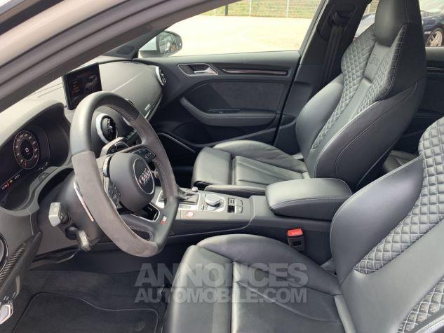 Audi RS3 II (2) SPORTBACK 2.5 TFSI 400 CH QUATTRO S TRONIC BLANC GLACIER MÉTAL Occasion - 8