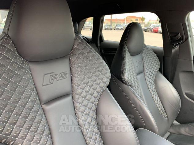 Audi RS3 II (2) SPORTBACK 2.5 TFSI 400 CH QUATTRO S TRONIC BLANC GLACIER MÉTAL Occasion - 10
