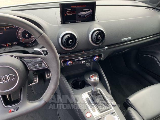 Audi RS3 II (2) SPORTBACK 2.5 TFSI 400 CH QUATTRO S TRONIC BLANC GLACIER MÉTAL Occasion - 14