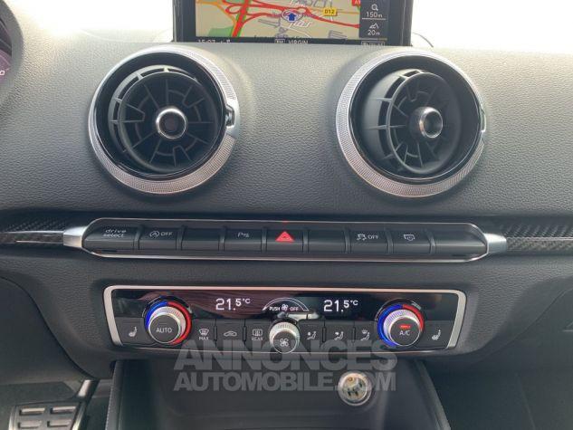 Audi RS3 II (2) SPORTBACK 2.5 TFSI 400 CH QUATTRO S TRONIC BLANC GLACIER MÉTAL Occasion - 16