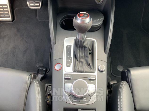 Audi RS3 II (2) SPORTBACK 2.5 TFSI 400 CH QUATTRO S TRONIC BLANC GLACIER MÉTAL Occasion - 17