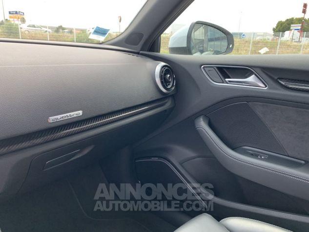 Audi RS3 II (2) SPORTBACK 2.5 TFSI 400 CH QUATTRO S TRONIC BLANC GLACIER MÉTAL Occasion - 18