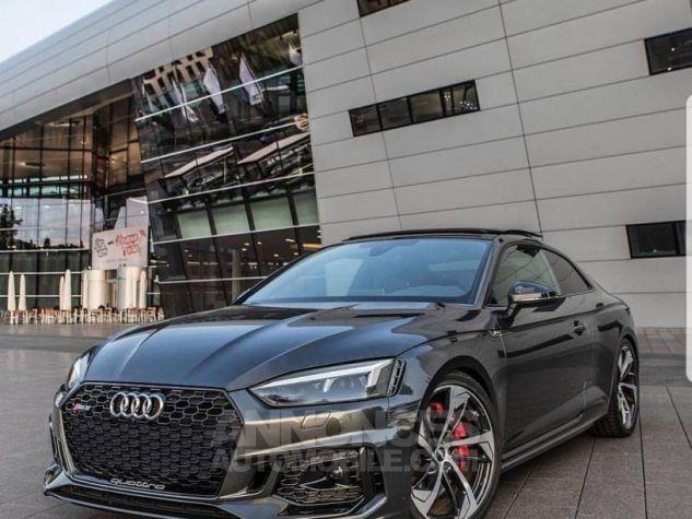Audi RS5 Coupé V6 450Ch 2018 rouge métallisé Occasion - 0