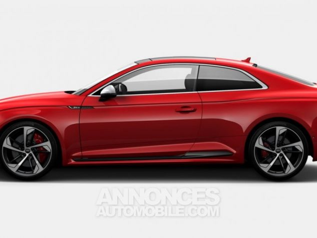 Audi RS5 Coupé V6 450Ch 2018 rouge métallisé Occasion - 2