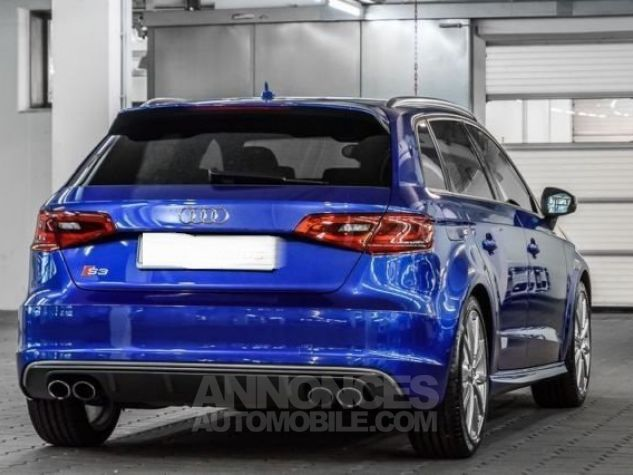 Audi S3 sportback bleu Occasion - 1