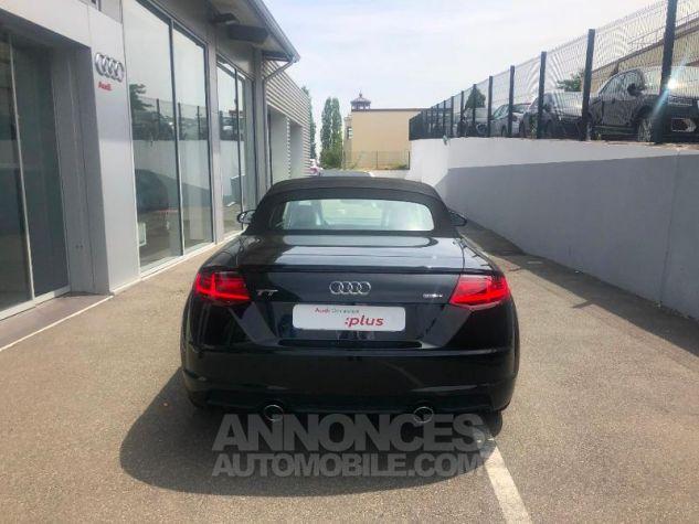 Audi TT Roadster 45 TFSI 245ch S line quattro S tronic 7 NOIR MYTHOS/CAPOTE NOIRE Occasion - 3