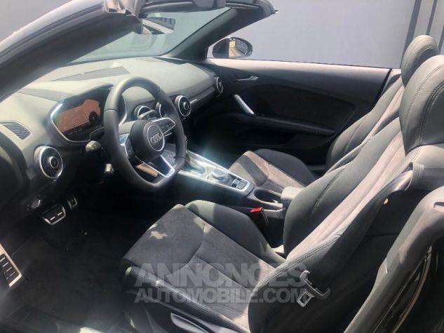 Audi TT Roadster 45 TFSI 245ch S line quattro S tronic 7 NOIR MYTHOS/CAPOTE NOIRE Occasion - 7
