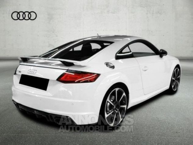 Audi TT RS COUP BLANC Occasion - 1