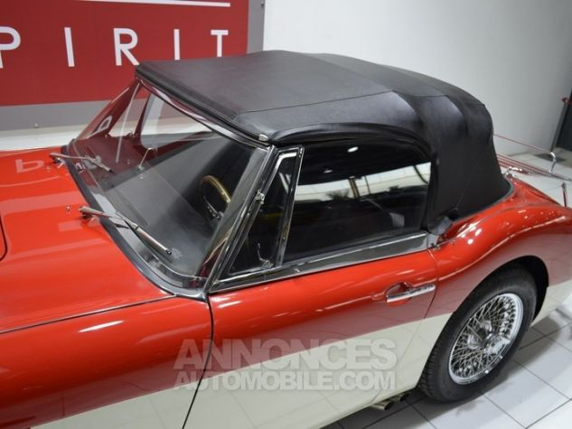 Austin Healey 3000 MK2 BJ7 Colorado Red / Old English Whi Occasion - 24
