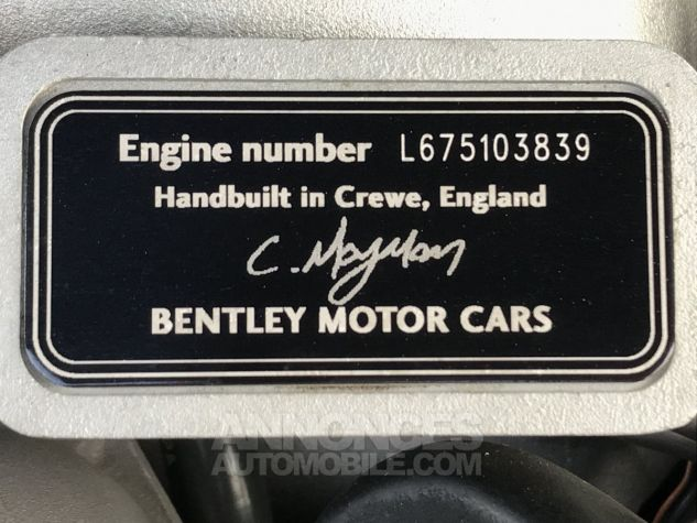 Bentley Arnage T BORDEAU METAL Occasion - 15