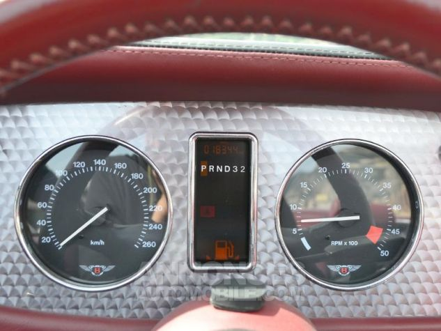 Bentley Azure Mulliner Wide Body Gris Foncé Occasion - 12