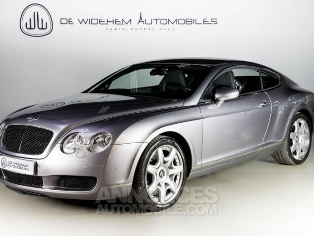Bentley Continental GT COUPE 6.0 W12 BI TURBO 560 TIPTRONIC Gris Occasion - 0