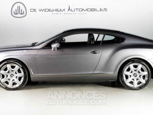 Bentley Continental GT COUPE 6.0 W12 BI TURBO 560 TIPTRONIC Gris Occasion - 1