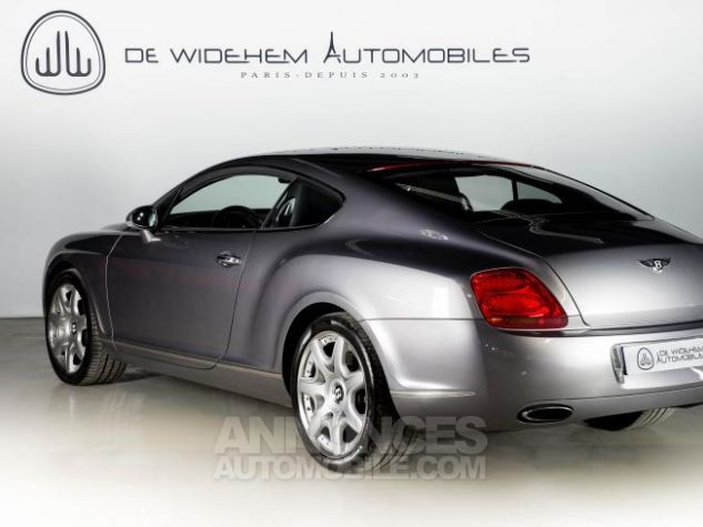 Bentley Continental GT COUPE 6.0 W12 BI TURBO 560 TIPTRONIC Gris Occasion - 2