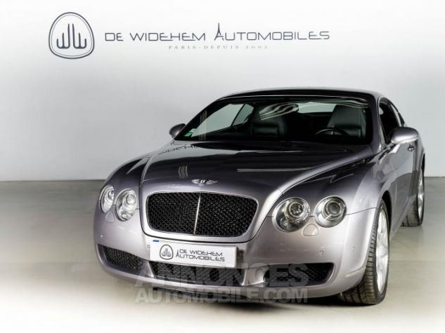 Bentley Continental GT COUPE 6.0 W12 BI TURBO 560 TIPTRONIC Gris Occasion - 3