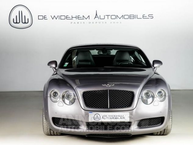 Bentley Continental GT COUPE 6.0 W12 BI TURBO 560 TIPTRONIC Gris Occasion - 4