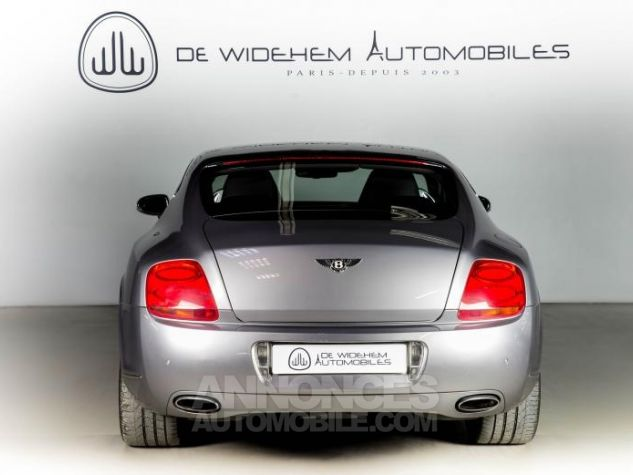 Bentley Continental GT COUPE 6.0 W12 BI TURBO 560 TIPTRONIC Gris Occasion - 5