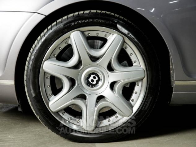 Bentley Continental GT COUPE 6.0 W12 BI TURBO 560 TIPTRONIC Gris Occasion - 6