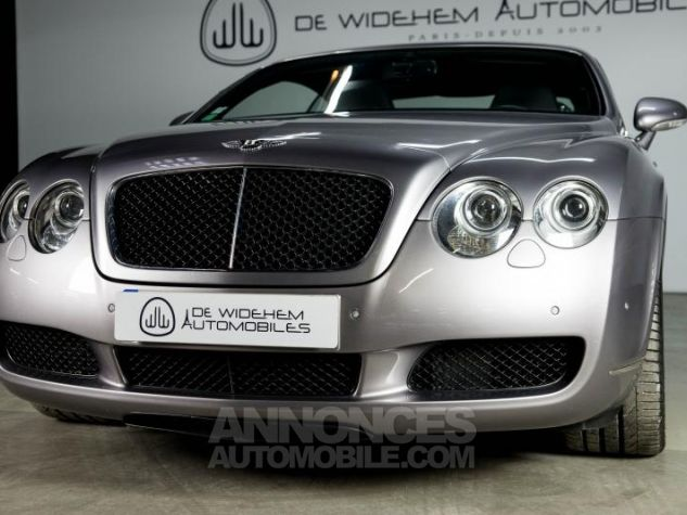 Bentley Continental GT COUPE 6.0 W12 BI TURBO 560 TIPTRONIC Gris Occasion - 15