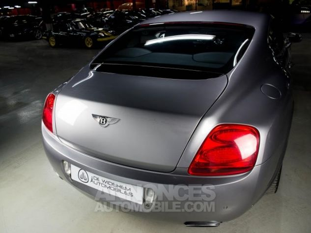 Bentley Continental GT COUPE 6.0 W12 BI TURBO 560 TIPTRONIC Gris Occasion - 16
