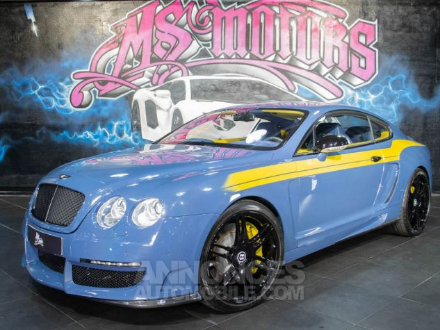 Bentley Continental GT COUPE W12 MANSORY  BLEU METAL  Occasion - 1