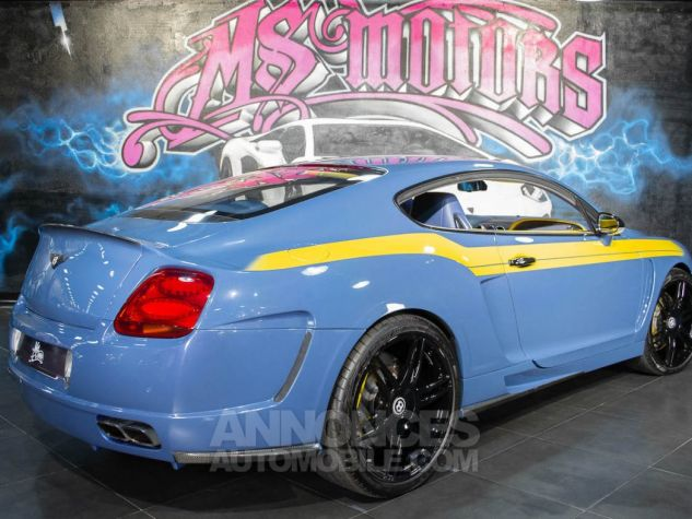 Bentley Continental GT COUPE W12 MANSORY  BLEU METAL  Occasion - 4