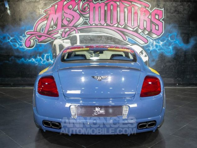 Bentley Continental GT COUPE W12 MANSORY  BLEU METAL  Occasion - 5