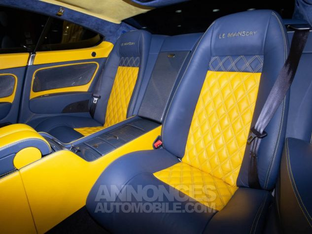Bentley Continental GT COUPE W12 MANSORY  BLEU METAL  Occasion - 10