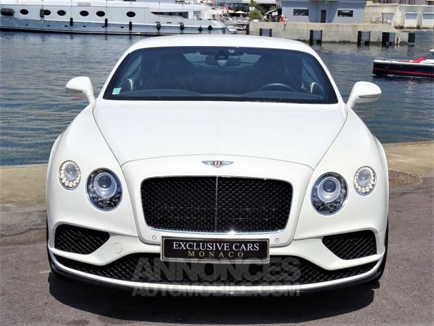 Bentley Continental GT  GT II COUPE V8 S 528 CV MULLINER - MONACO BLANC Occasion - 5