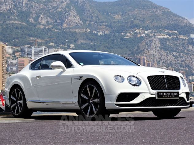 Bentley Continental GT  GT II COUPE V8 S 528 CV MULLINER - MONACO BLANC Occasion - 7