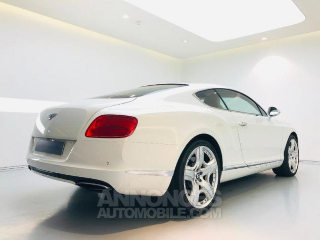 Bentley Continental GT W12 6.0 Blanc Glacier White Occasion - 2
